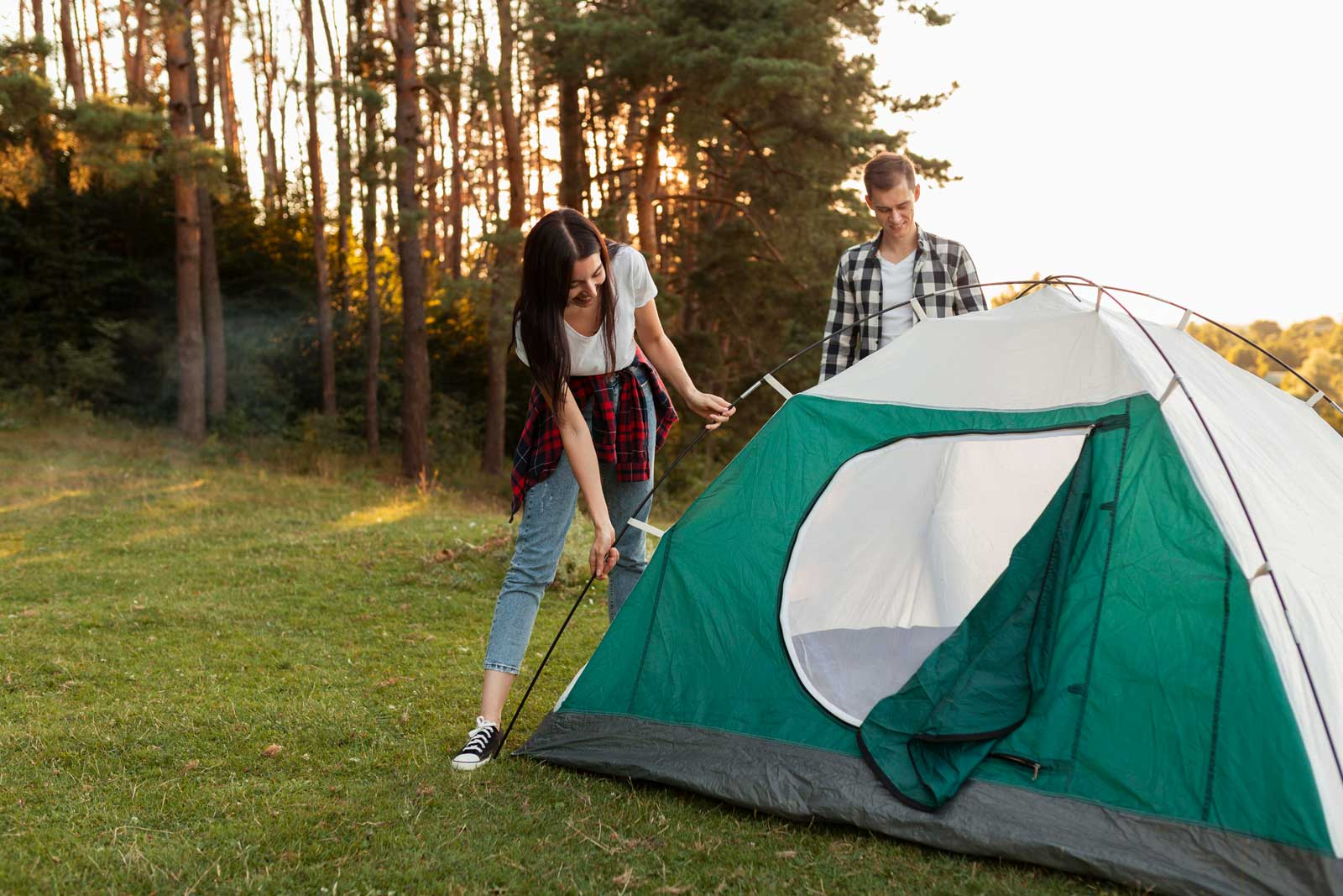 Pitch Your Own Tent